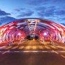 Hans Wilsdorf Bridge, Geneva, Switzerland